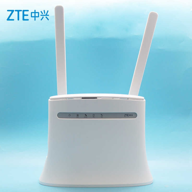 ZTE Rotuer 4G Router MF283 MF283u Có Ăng Ten 4G LTE Router Với RJ11 4G Không Dây Wi-Fi Router kích Sóng Không Dây PK Huawei B593